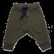 Pantaloni groși verde închis