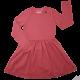 Rochie casual cu mâneci lungi, confortabilă, din bumbac organic