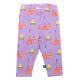 Colanți lungi lila cu imprimeu corturi colorate