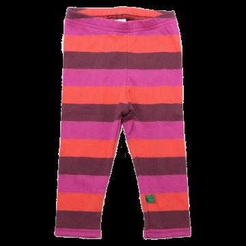 Colanți lungi cu dungi mari colorate