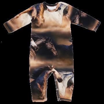 Salopetă Horse din bumbac organic