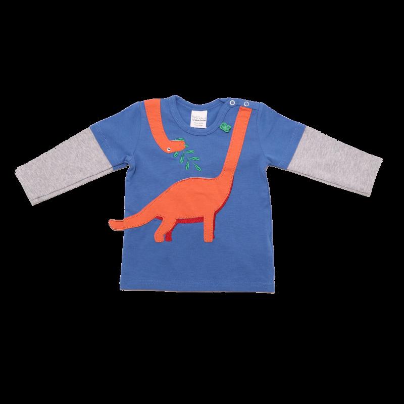 Bluziță cu mânecă lungă Hello Dino