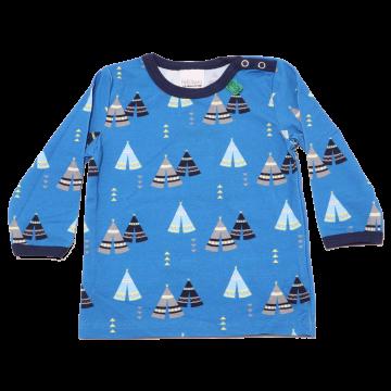 Bluziță albastră cu mânecă lungă Tepee Freds World