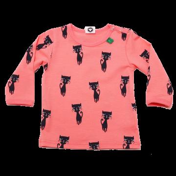 Bluziță corai cu mânecă lungă și imprimeu pisici Freds World