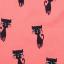 Bluziță corai cu mânecă lungă și imprimeu pisici