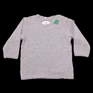 Bluziță gri cu mânecă lungă