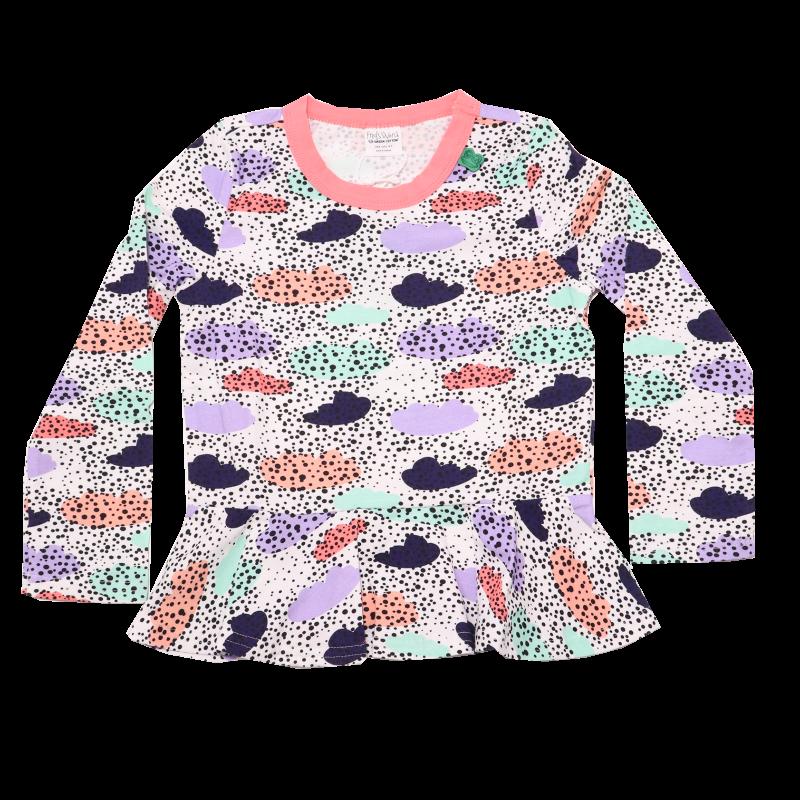 Bluziță Cloud cu mânecă lungă