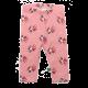 Colanți lungi roz cu imprimeu rândunici