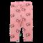 Colanți roz cu imprimeu rândunici