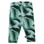 Colanți din bumbac organic cu imprimeu Palm