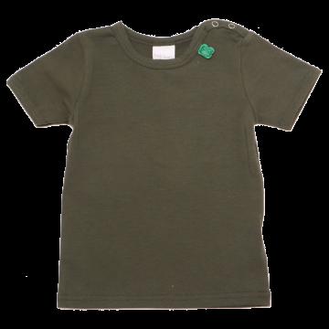 Tricou verde închis simplu