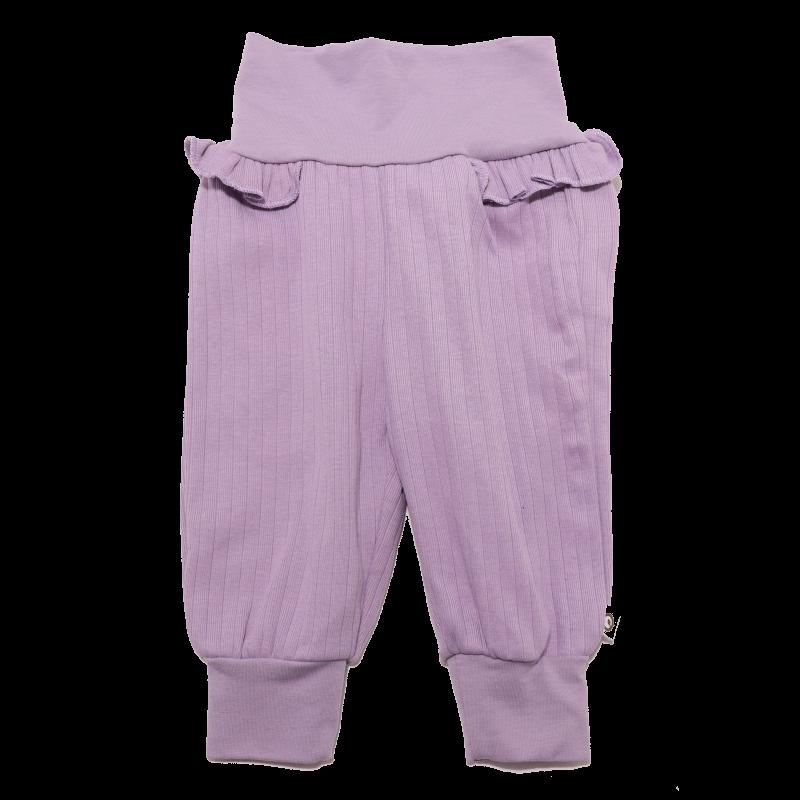 Pantaloni lila confortabili