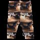 Colanți din bumbac organic cu imprimeu cai