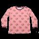 Bluziță roz cu mânecă lungă și imprimeu rândunici