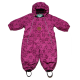 Combinezon roz violet de iarnă pentru bebeluși