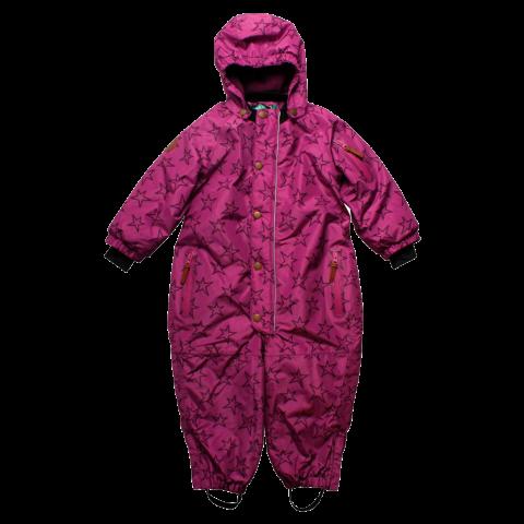 Salopetă copii roz violet,  zăpadă și ski Fred's World