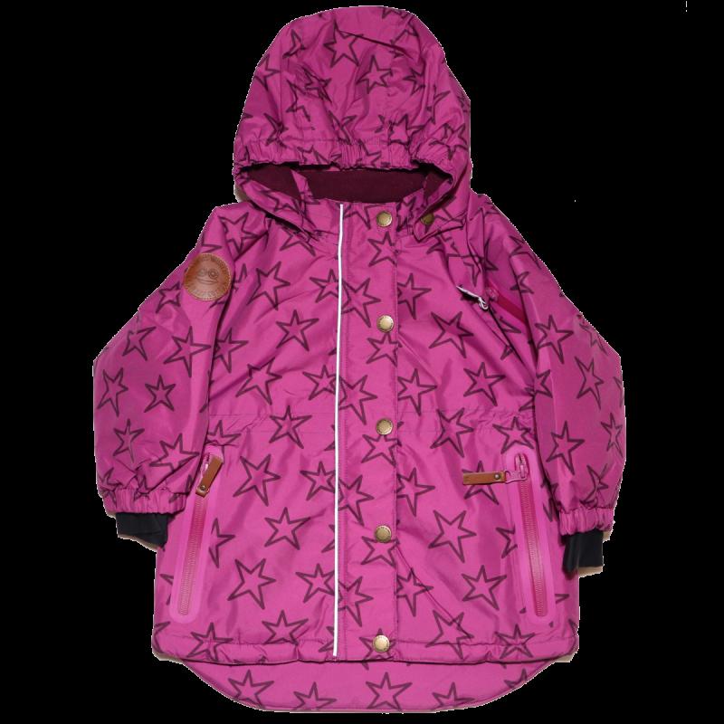 Geacă roz violet de zăpadă și ski