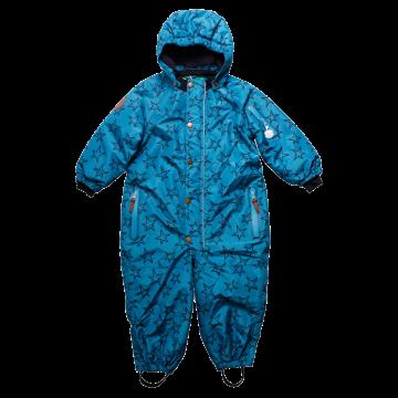 Salopetă copii, albastră, de zăpadă și ski Fred's World