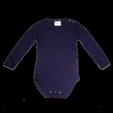 Body bleumarin din lână fină
