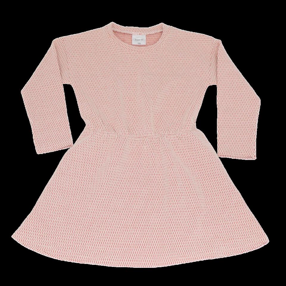 Rochie din bumbac gros cu mânecă lungă