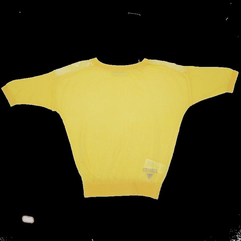 Bluză cu mânecă lungă și detalii dantelate