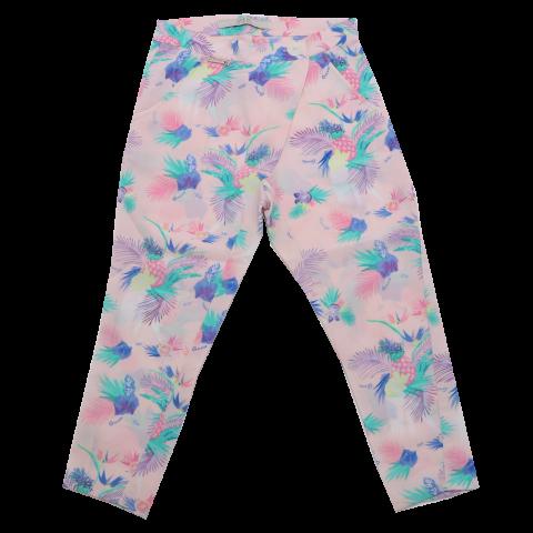 Pantaloni răcoroși roz Guess 5-6 ani (116cm)