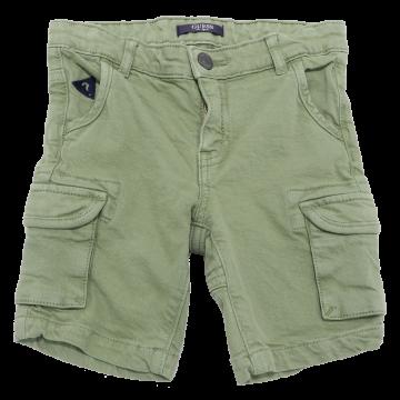Pantaloni scurți verzi cu buzunare laterale Guess 18-24 luni (92cm)