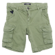 Pantaloni scurți verzi cu buzunare laterale