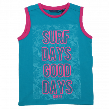 Maiou cu imprimeu Surf Days Good Days
