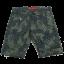 Pantaloni scurți verzi cu imprimeu vegetal