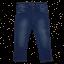 Skinny Jeans albaștri cu strasuri