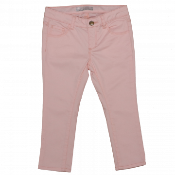 Skinny Jeans roz cu strasuri