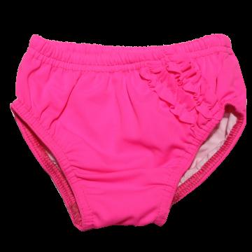 Slip de baie impermeabil roz