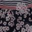 Rochie Lilly cu dungi și imprimeu floral