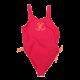 Costum de baie întreg roz și portocaliu
