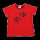 Tricou roșu cu figurine pești Tyler 301