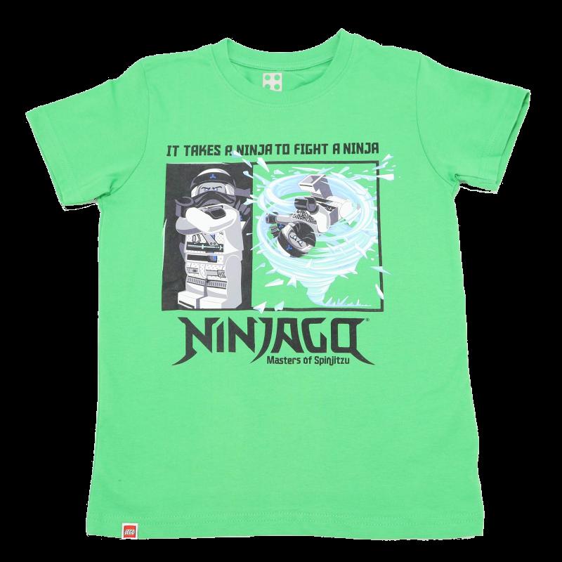 Tricou verde It Takes a Ninja to Fight a Ninja CM-50104