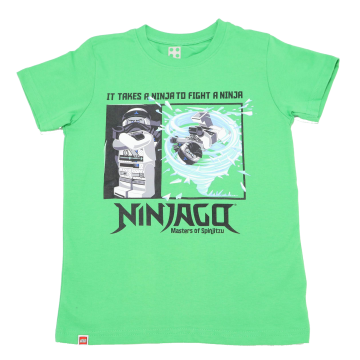 Tricou verde It Takes a Ninja to Fight a Ninja CM-50104
