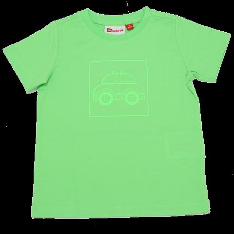 Tricou verde cu imprimeu mașinuță Terrence 324