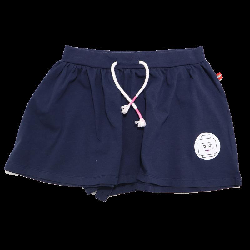 Fustiță pantalon bleumarin