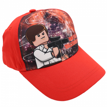 Șapcă roșie Han Solo 4-7 ani (52 cm)