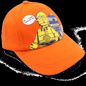 Șapcă portocalie Carlos 105