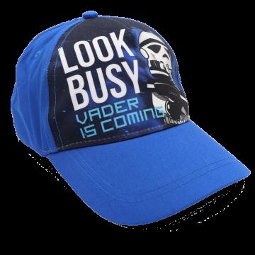 Șapcă albastră Look Busy