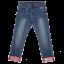 Jeans elastici cu manșete LWPAOPLA 105