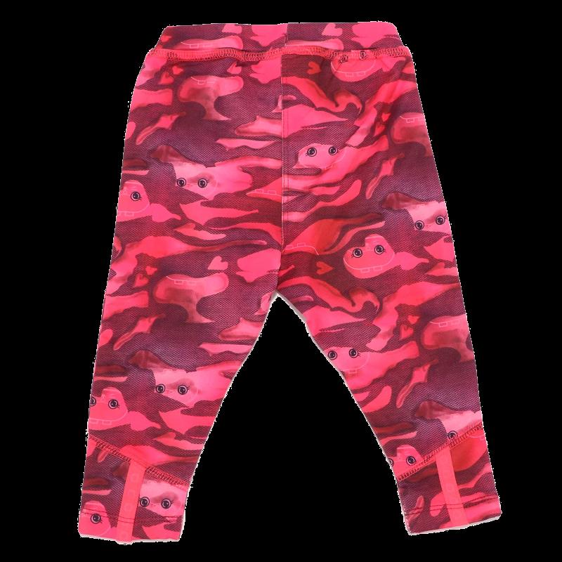 Colanți cu imprimeu roz Poppy 703