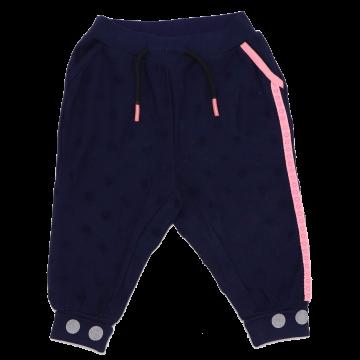 Pantaloni de trening cu model cerculețe Poppy 702