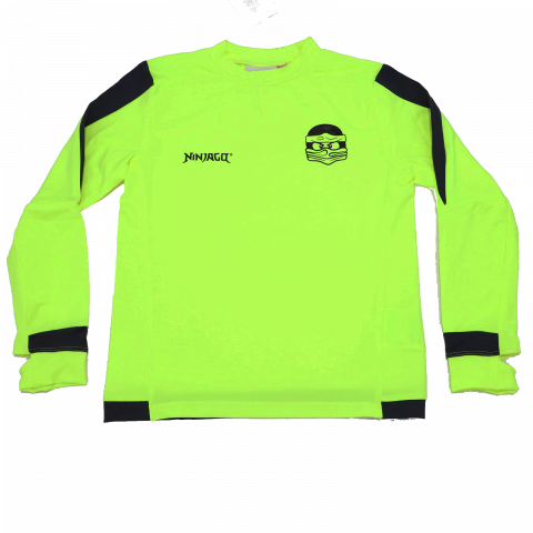 Bluza sport verde neon Thomas 606