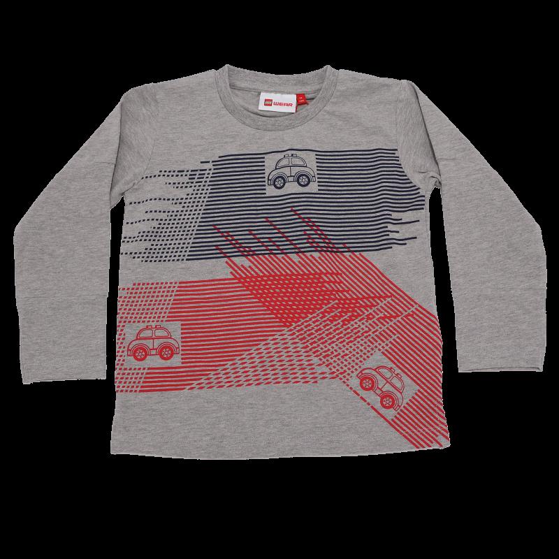 Bluză gri cu imprimeu mașinuțe Tyler 705
