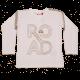 Bluză albă cu mânecă lungă și imprimeu Road Tyler 703