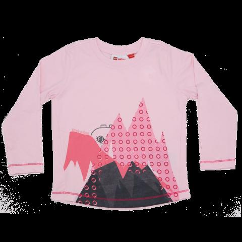 Bluză roz fosforescentă Thea 606